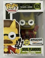 Funko POP! Exclusive Simpsons Devil Flanders Glow in the Dark Figure #1029 NEW