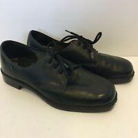 Dunlop Mens Black Leather Dress Shoes AU/UK7 US8 EUR41