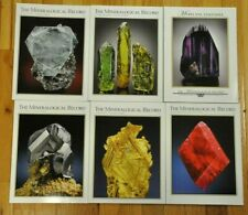 THE MINERALOGICAL RECORD  2009 Vol 40 6 issues the complete year