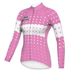 Women Bike Jersey Motocross Cycling Jacket Downhill Mountain Shirt Top Clothing