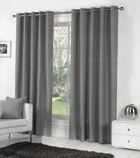Rideaux et cantonnières gris pour la maison, en 100% coton