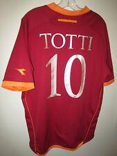 very rare TOTTI #10 AS Roma 2006-07 Diadora home shirt XXL trikot maillot maglia
