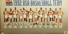 1992 OLYMPICS USA BASKETBALL DREAM TEAM w/ JORDAN NEW SEALED STARLINE POSTER