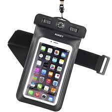 AUKEY Custodia Impermeabile Universale per Telefono Cellulare, Waterproof Cover