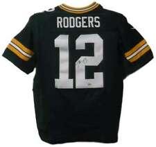 Aaron Rodgers Autographed Green Bay Packers Nike 44 Green Jersey FAN 16716
