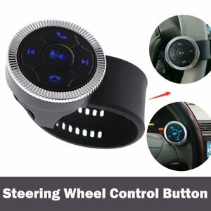 Car Steering Wheel DVD GPS Wireless Smart Button Key Remote Control Universal