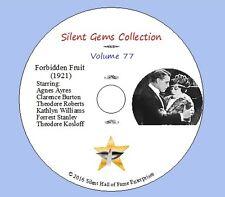 "DVD ""Forbidden Fruit"" (1921) Cecil B.DeMille, Agnes Ayres, Classic Silent Drama"