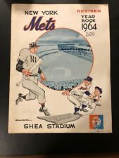 New York Mets - 1964 Official Year Book - Shea Stadium, Flushing, N. Y.  Revised