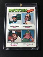 1977 TOPPS #473 ANDRE DAWSON ROOKIE CARD RC  -  SHARP  - EXMT-NM