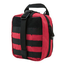 NcStar VISM EMT RED Rip Away EMT MOLLE Utility Medic Bag First Aid Tool Pouch