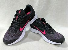 Nike Downshifter 9 (GS) Black/Pink/White Girl's Shoes - Size 5/7Y NWB AR4135-003