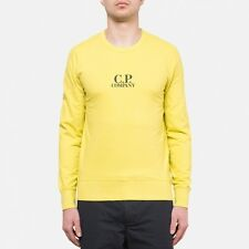 CP Company Chest Logo Crewneck Sweatshirt In Yellow BNWT