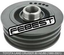 Crankshaft Pulley Engine For Toyota Land Cruiser 80 Hzj80 (1990-2001)