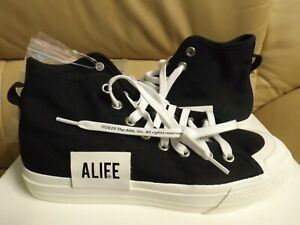 Adidas Originals Nizza Hi X Alife Men's Size 9 Sneakers Black/White FX2623 NEW