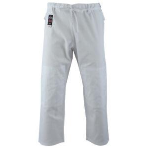 Malino Kids Adults Judo Trousers Pants 100% Cotton 7oz White Aikido Men Women