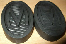 Pair Morris 10/4 12/4 Ten Series 2 3 M  Pedal Rubbers