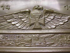 Replica Large WW1German Memorial Panel- Ehren Tafel Iron Cross Pickelhaube Motif