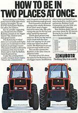 1985 Kubota M8950 2WD & 4WD Farm Tractor Print Ad