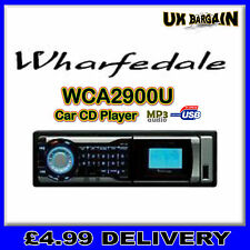 Wharfedale WCA2900U Car CD Player With RDS Tuner with USB Port