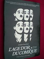 CINEMA. L'Age d'Or du Comique par Adolphe Nysenholc. Première édition 1979. TBE