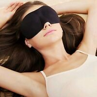 Soft Padded 3D Design Eye Sleep Mask Aid Shade Cover Blindfold For