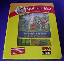 Spiel dich schlau !  Buch & Spiel * Prinzessin Tapeta und die Zählmeister *