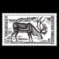 """TAAF 1987 - Antarctic Fauna """"Rangifer tarandus"""" Animals - Sc 130 MNH"""