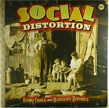"2x 12"" LP - Social Distortion - Hard Times And - A4419 - with Poster"