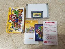 Super Mario Advance 4 (SMB 3) GBA Game Boy Advance  JAPAN Nintendo