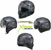 Scorpion Covert Incursion Phantom Helmet Convertible 3-in-1 Half Open Full Face