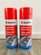 2x Kraftsprühkleber Plus 400 ml Würth Sprühkleber starker Kontaktkleber