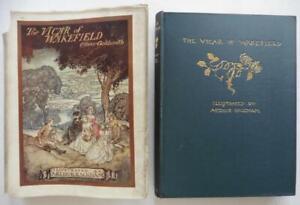 ARTHUR RACKHAM. 1ST EDITION THE VICAR OF WAKEFIELD. 1929. HARRAP. DUST-JACKET