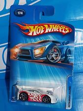 Hot Wheels 2005 Mainline #174 Mitsubishi Eclipse White w/ PR5s