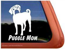 Puggle Mom |High Quality Puggle Vinyl Dog Window Decal Sticker