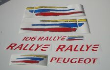 Peugeot 106 Rallye decal graphics vinil sticker