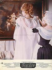 MICHELE MERCIER MERVEILLEUSE ANGELIQUE 1965 VINTAGE PHOTO ORIGINAL #3