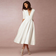 Elegant Women Vintage A-line Swing Dress Cocktail Wedding Evening Party Dresses