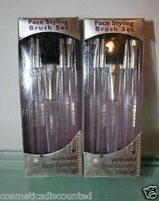 2 Wet n Wild  FACE STYLING BRUSH SET eye face lip  950 lot of 2 kits