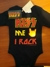 KISS BABY JUMP SUIT ONE PIECE BRAND NEW WITH TAGS SIMMONS STANLEY FREHLEY CRISS