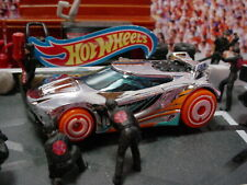 2021 ACTION Design CHICANE ☆chrome;5;orange☆Best for Track☆LOOSE Hot Wheels