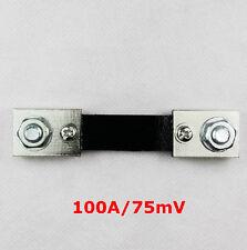 Neu FL-2 DC 75mV 100A Current Shunt Resistor Widerstand für Ammeter Panel Meter