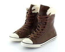 82d6677cec57c Converse All Star Chuck Taylor XHi Dainty Chocolate Leather gefüttert Gr. 37