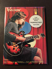 Welson Guitars collectors refrigerator magnet