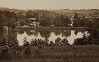 RPPC Pennsylvania Estate, Lake Scene, Boat House Photo Postcard E16