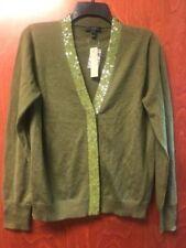 Tommy Hilfiger Women/'s V-neck Sweater SZ S Winter Jade NWOT-Free Shipping