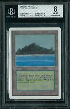 Magic MTG Unlimited Tropical Island BGS 8 (9, 9, 8.5, 7)