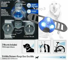 Dublin Dog Rigel Safety LED Light-Multi-Use Walk-Bike or Dog Collar Mount