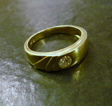 Solitäre Brilliantschliff Echte Diamanten-Ringe