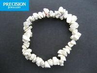 Howlite Chips Stretch Healing Bracelet Awareness Gemstone Crystal Bead