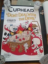 Cuphead Craps in Hell First Edition Poster Print 30 out of 100 NEW